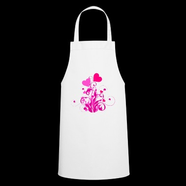 Blooming hearts - Cooking Apron