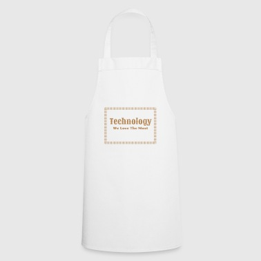 tech nology technology - Cooking Apron