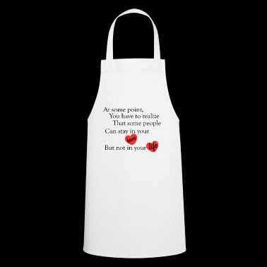love quotes cool - Cooking Apron