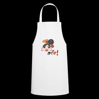 Flamenco and OLEE !! - Cooking Apron