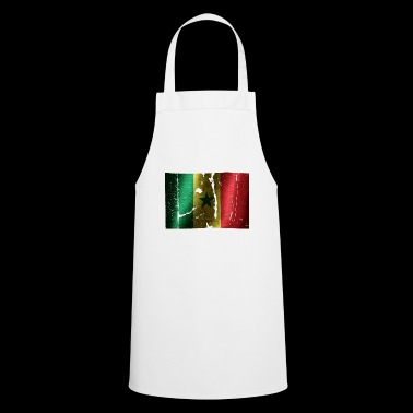 Senegal flag cool vintage used sport look - Cooking Apron