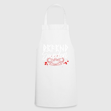 DEFEND SWEDEN - Cooking Apron