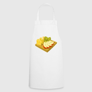 kiwi fruits fruit fruit fruit veggie vegetarian - Cooking Apron
