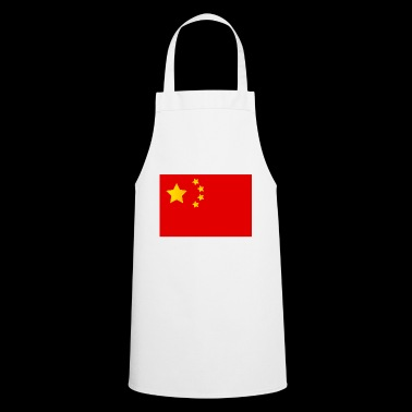 china flag - Cooking Apron