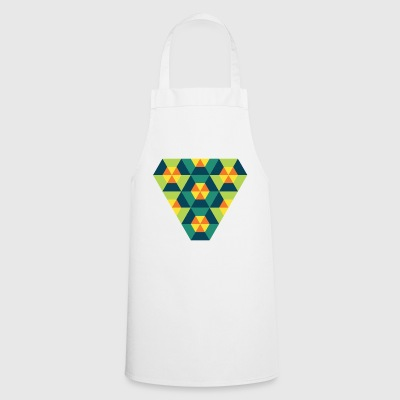 Triangular Geometry - Cooking Apron