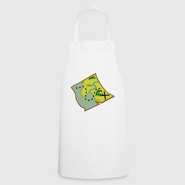 Treasure map - Cooking Apron