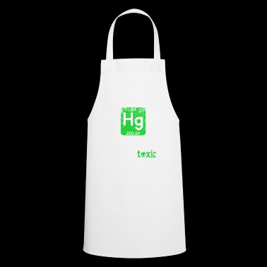 Funny Science Chemical Element Hg Toxic Hug Gift - Delantal de cocina