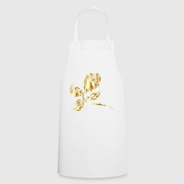 golden rose - Cooking Apron
