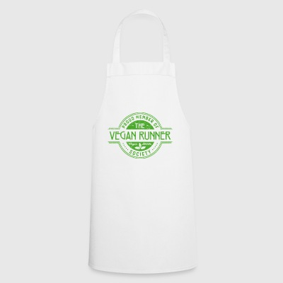 Vegan Runner Athlete Society Club Membre cadeau - Tablier de cuisine