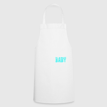 Super small - super sweet - super baby - blue - Cooking Apron
