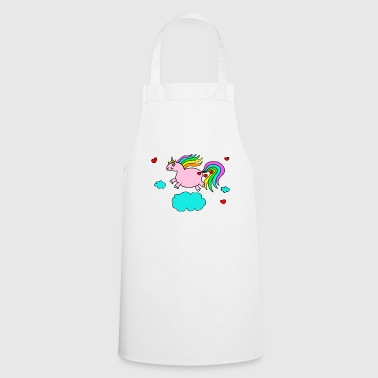 Thick unicorn - Cooking Apron
