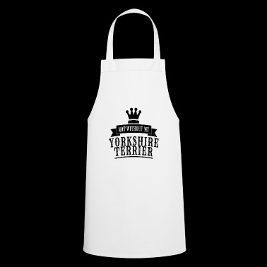 YORKSHIRE TERRIER DOG SHIRT - Cooking Apron