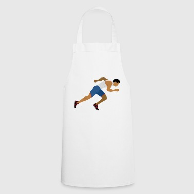 Athlete (sprinting) - Cooking Apron