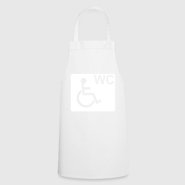 Wheelchair WC Fair Gift White - Cooking Apron