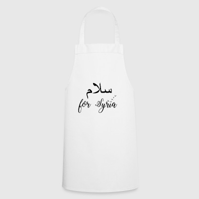 Peace for Syria - Cooking Apron