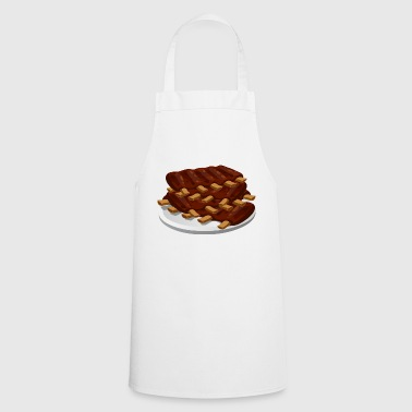spare ribs meat pork food - Cooking Apron