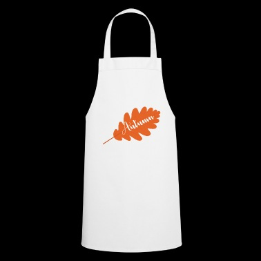Fall gift idea - Cooking Apron