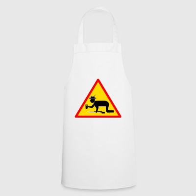 Danger sign Hunter drunk - Cooking Apron