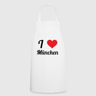 i love munich - Cooking Apron