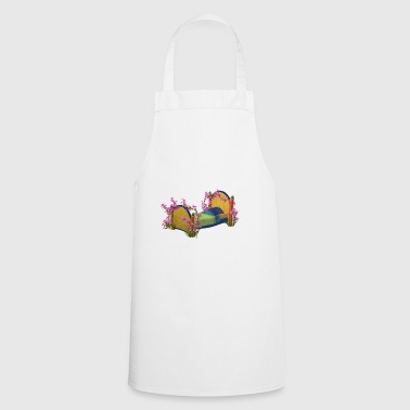 The bed in bloom - Cooking Apron
