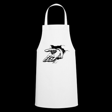 Open hand - Cooking Apron