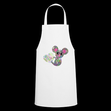Koala bear with heart filled with butterflies - Cooking Apron