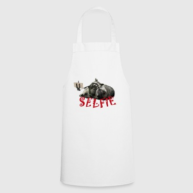 Raccoon red - Cooking Apron