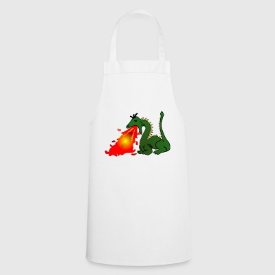 Dragon which spits fire - Cooking Apron