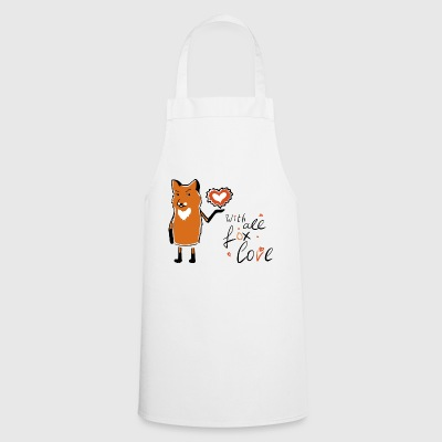 with all fox love - Cooking Apron