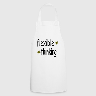 flexible thinking black - Cooking Apron