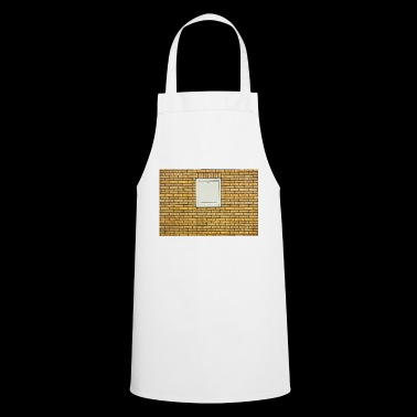 chic block wall - yellow - Cooking Apron
