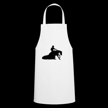 Sliding Stop Western Riding - Cooking Apron
