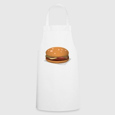 hamburger - Tablier de cuisine