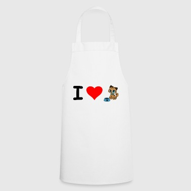 I love baby cats. - Cooking Apron