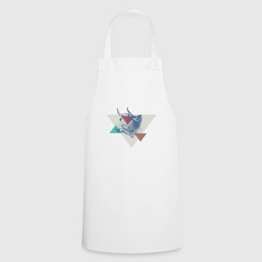 Cow triangle design - Cooking Apron