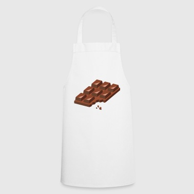 Chocolate blackboard candy - Cooking Apron