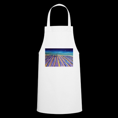 Lavender fields in Provence - Cooking Apron