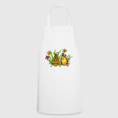 Easter eggs - Cooking Apron