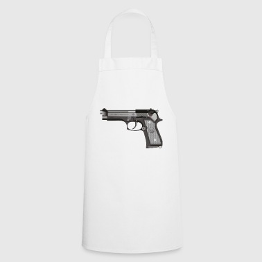 Weapon pistol - Cooking Apron