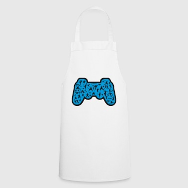 blue control - Cooking Apron