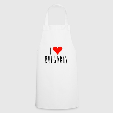 Love i love bulgaria - Cooking Apron