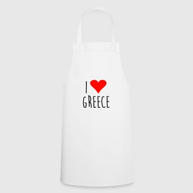Love i love greece - Cooking Apron