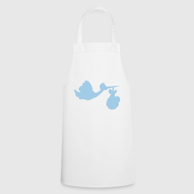 Stork with baby - Cooking Apron