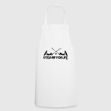 Kitesurf for life by kite-mallorca. - Cooking Apron