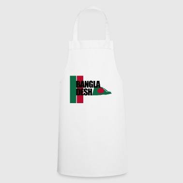Movement of The Bangladesh Flag - Stripes - Cooking Apron