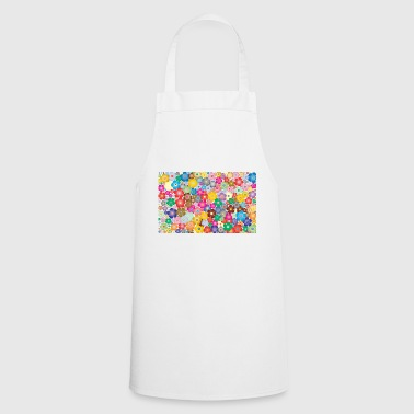 Colourful flowers - Cooking Apron