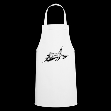 fighter jet - Cooking Apron