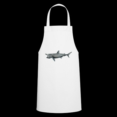 Pilgrim shark - Basking shark - Requin pelerin - Cooking Apron