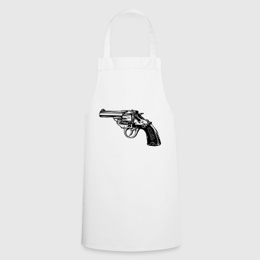 Revolver pistol weapon - Cooking Apron