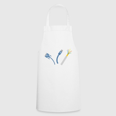 Electric wire - Cooking Apron